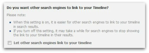 Search engines off