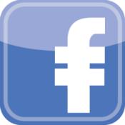 Facebook logo with dollar bars