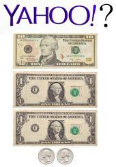 Yahoo bounty. Image courtesy of Shutterstock