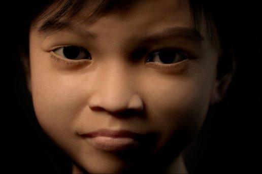 Terres Des Hommes' child-like avatar
