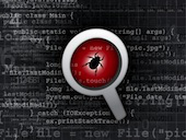 Image of bug in code, courtesy of Shutterstock