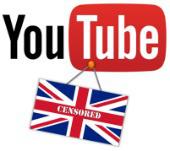 UK censors YouTube
