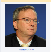 Eric Schmidt. Image by Guillaume Paumier, CC-BY.
