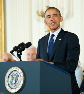 Obama. Image courtesy of Shutterstock