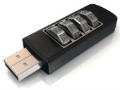 USB stick. Image courtesy of Shutterstock.