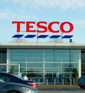 Tesco. Image courtesy of JuliusKielaitis / Shutterstock.