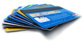 Credit cards. Image courtesy of Shutterstock