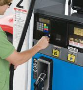 Gas pump. Image courtesy of Shutterstock