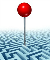 Maze. Image courtesy of Shutterstock.