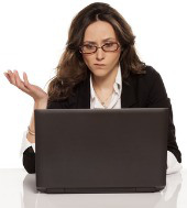 Confused woman. Image courtesy of Shutterstock