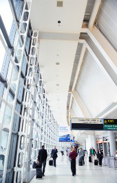 Newark Airport. Image courtesy of Shutterstock