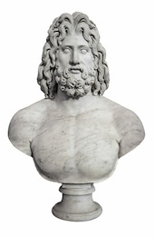 Image of bust of Zeus, courtesy of Shutterstock