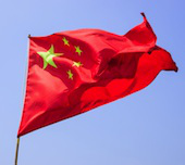 Image of Chinese flag courtesy of Shutterstock