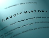 Credit history. Image courtesy of Shutterstock