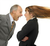 Employee Shouting, Image courtesy of Shutterstock