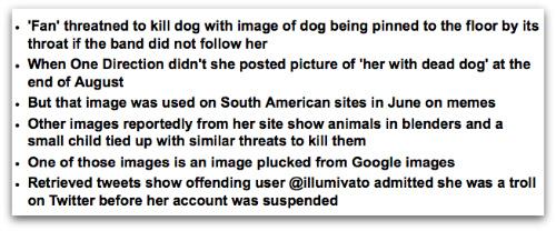 Illumivato story headlines in the Daily Mail