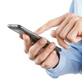 Mobile phone. Image courtesy of Shutterstock.