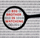 Big brother. Image courtesy of Shutterstock