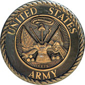 US Army badge image courtesy of Shutterstock