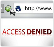 Access denied. Image courtesy of Shutterstock