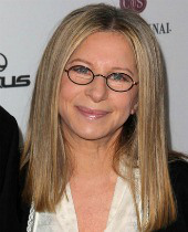 Barbara Streisand. Image courtesy of Shutterstock
