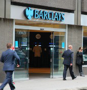 Barclays. Image courtesy of Tupungato/Shutterstock.