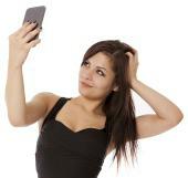 Selfie girl. Image courtesy of Shutterstock