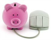 Piggy bank. Image courtesy of Shutterstock.