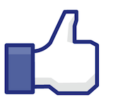 Facebook thumbs up, CC