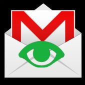 Gmail icon and green eye