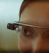 Google Glass image courtesy Wikimedia Commons, Antonio Zugaldia