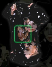 Michael Jackson. Image courtesy of Real Face.