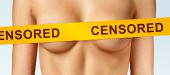 Censored female, image courtesy of Shutterstock